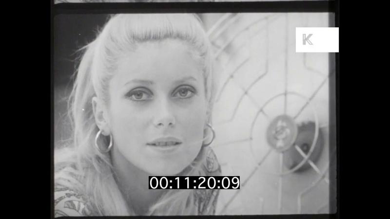 1950s 1960s Paris Catherine Deneuve Fashion Photoshoot 16mm