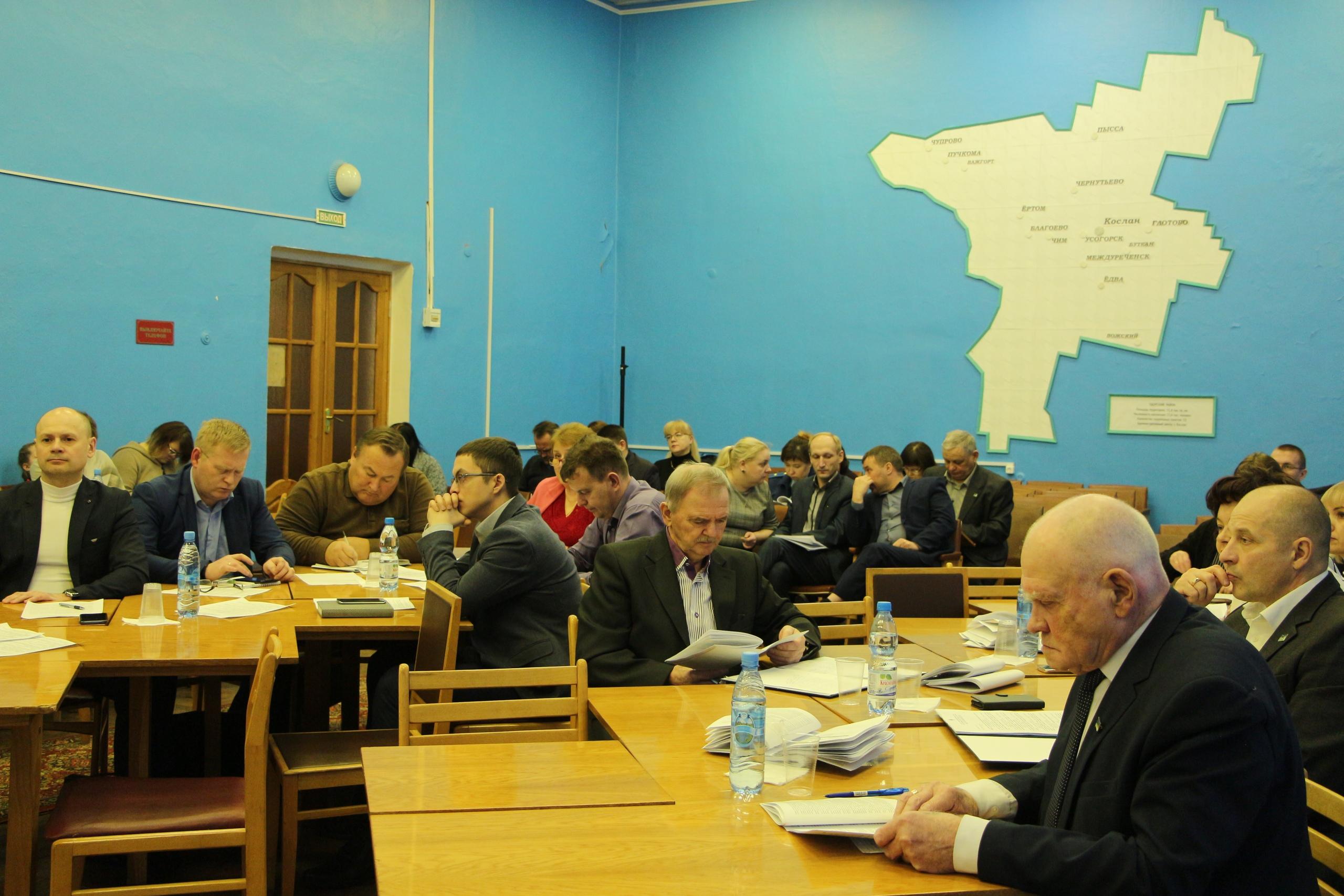 16 декабря состоялось очередное заседание районного Совета V созыва