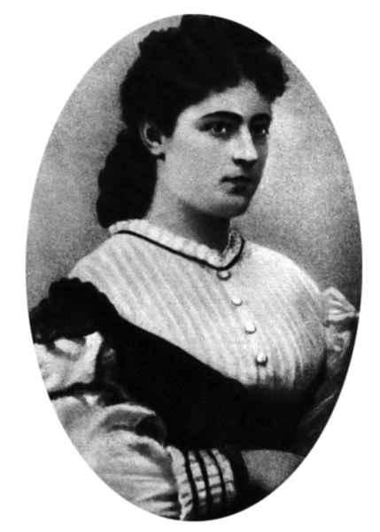 Елизавета Болтина в юности.