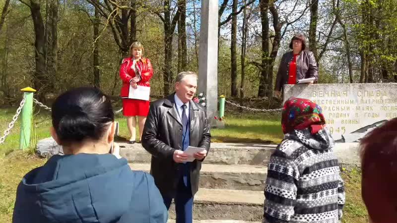 Выступление Главы администрации Бежаницкого района Михеева С К