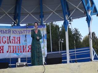 анс.Лира  пгт  НИЖНИЕ ВЯЗОВЫЕ Зеленодольского Муниципального района       ,  на  Фестивале казачьей песни в Набережных Челнах