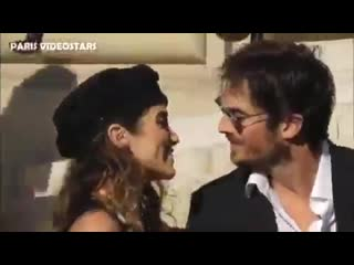 Ian and nikki running late looks so freaking hot. and that kiss at the end tho @iansomerhalder @nikkireed_i_am