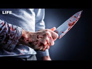Неадекват напал с ножом на сотрудника ГИБДД
