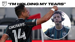 "Javier ""Chicharito"" Hernandez Gets Emotional in Post-Game Interview"