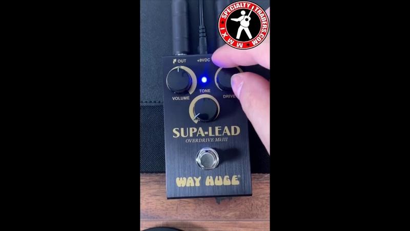 DUNLOP WAY HUGE SMALLS WM31 MINI SUPA LEAD OVERDRIVE GUITAR EFFECT PEDAL