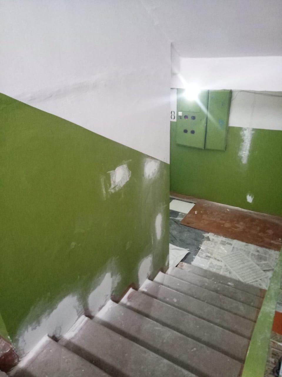 Улица Ульяновская дом 8 подъезд 6 подготовка