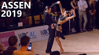 Alexander Chernositov & Arina Grishanina (USA)    Assen 2019   Amateur Latin - R4 Paso Doble