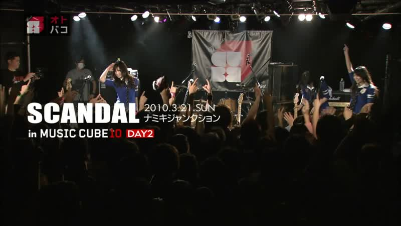 SCANDAL MUSIC CUBE10 DAY2 2010 03 21 LIVE