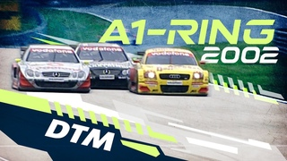 We #StayHome together: DTM A1-Ring Spielberg 2002 Weekend (Best Races Re-Live)