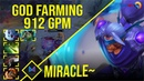 Miracle Anti Mage GOD FARMING 912 GPM Dota 2 Pro Players Gameplay Spotnet Dota 2