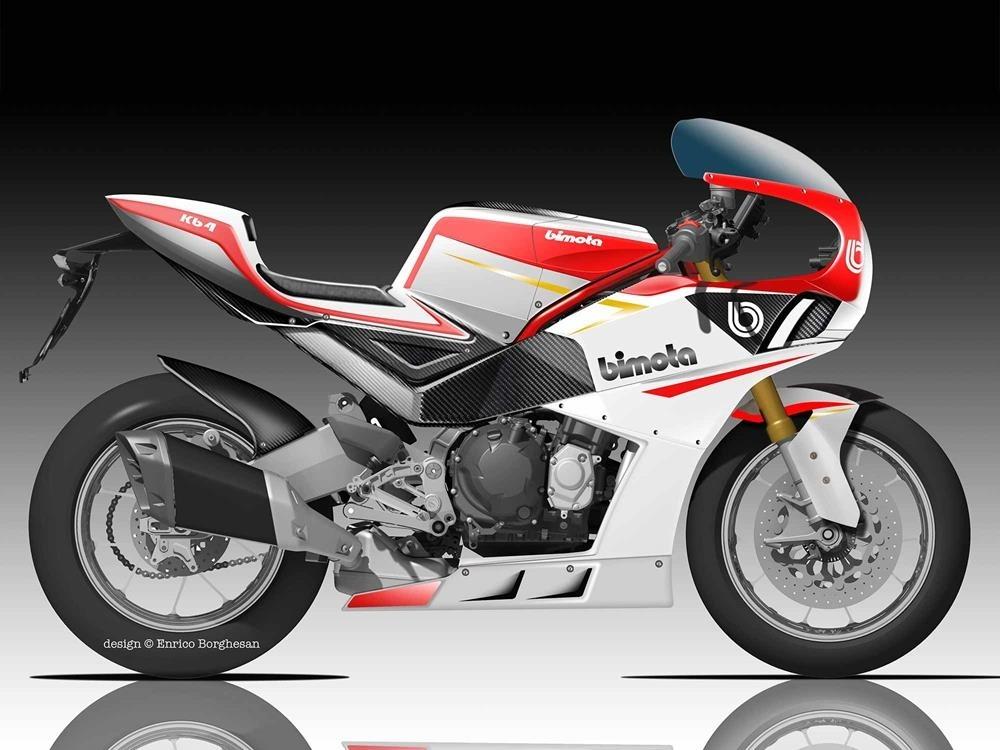 Новый нео ретро мотоцикл Bimota KB4 представят летом 2020
