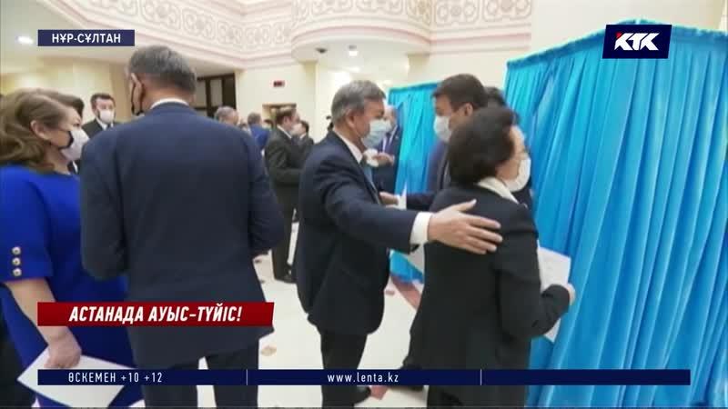 Былтыр Дариға Назарбаеваны бірауыздан қолдаған сенаторлар, бүгін қалыс қалмай Әшімбаевқа дауыс берді