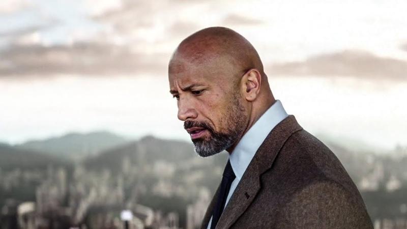 Skyscraper 2018 The Pearl Experience Scene Movie Acess