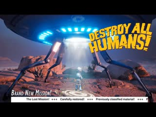 Destroy All Humans! - Lost Mission Teaser