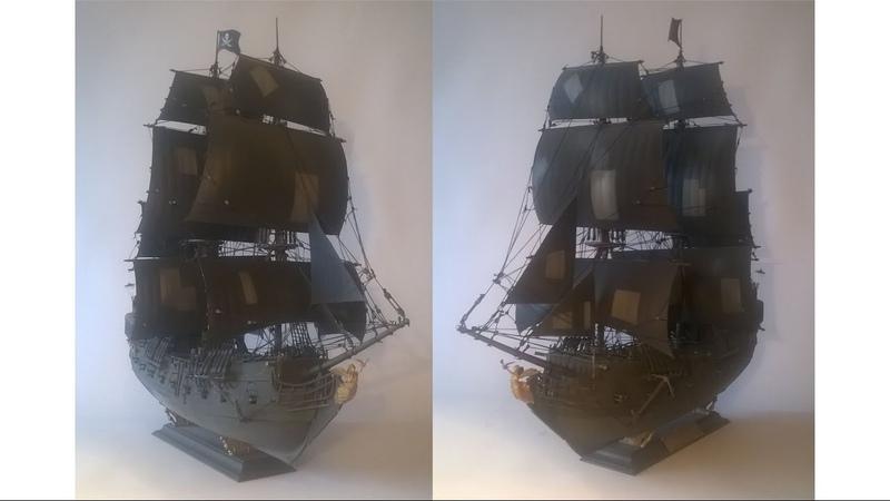 Черная Жемчужина сборная модель Звезда Black Pearl model kit