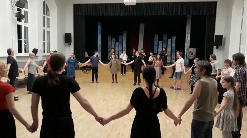 Ak, tōţi, vanā AņdrõkAk, tēvs, vec Andrej (танец Ливов) - Baltijas Danču Naktis 2019 (22.11.19)