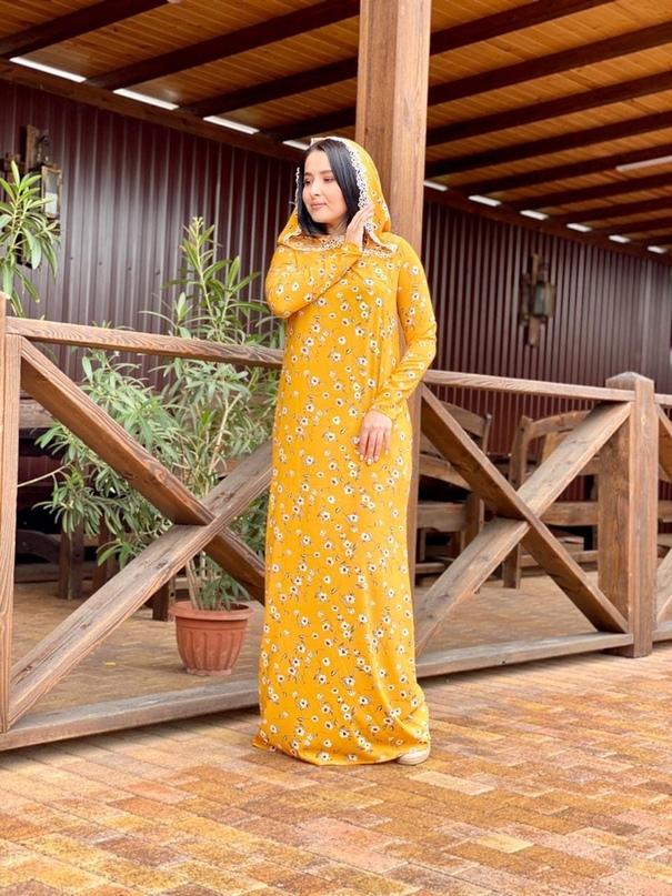 Платье с капюшоном , можно носить и как Намазники!!!ткань супер софт!!посадка🔥🔥🔥...