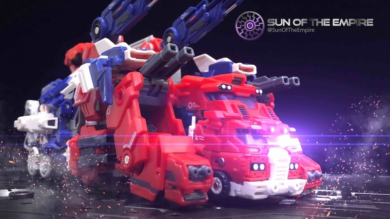 [SimplyTransform 8] MASTER MADE SDT-07  GIN Hero Warrior ST-06   GIN Hero EX  God Ginrai to Tank