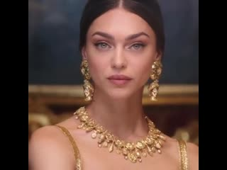 Женя Катова (Zhenya Katava, Al Model Management) в аккаунте dolce&gabbana
