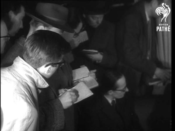 Otto Strasser Returns To Germany 1955