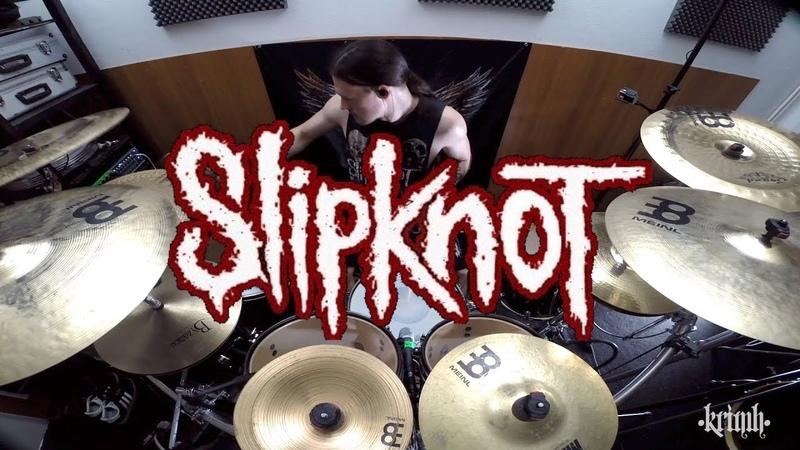 Slipknot - Three Nil Drum Cover by KRIMH