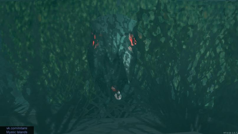 Рога с красными глазами