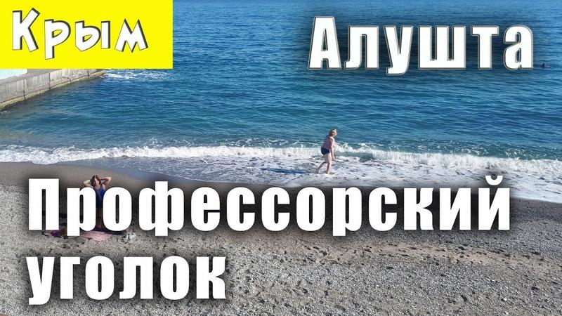 Отдых в Алуште 4 серия Профессорский уголок Прогулка по набережной в Рабочем уголке Крым отзывы
