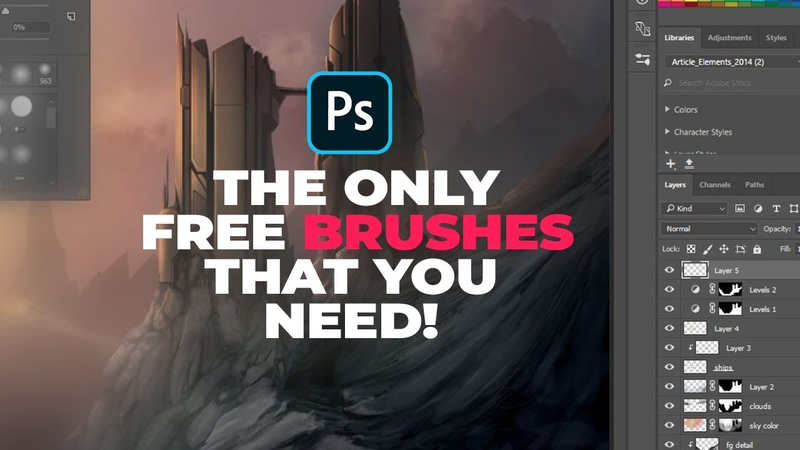 Top 5 Free Photoshop Brushes that Are Really Important