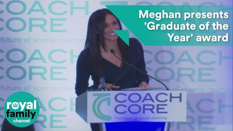 Meghan presents 'Graduate of the Year' award