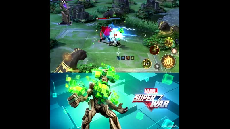 Грут MARVEL Super War