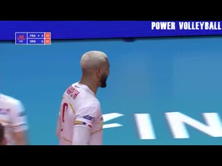 The king of spike earvin ngapeth crazy volleyball actions (hd)