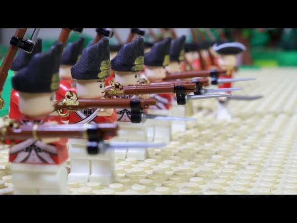 Lego American Revolution Battle of Lexington Лего американская революция битва у Лексингтона