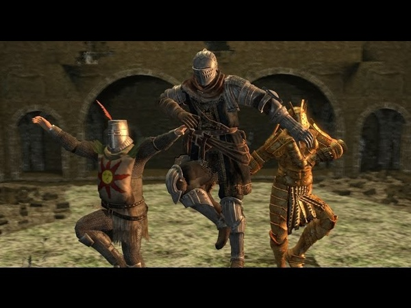 When you go dark souls with your best mates
