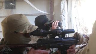 Снайпер. Уничтожение часового. Сирия. 2019