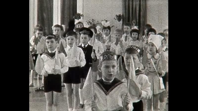 Оцифровка 8 мм киноплёнки праздник 23 февраля в детском саду СССР конец 1970 х начало 1980 х