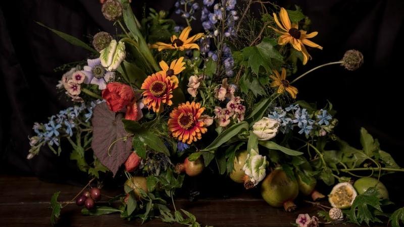Mayesh en español Bodegón de flores inspirado en obras maestras holandesas