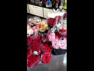 Свежий приход срезанных цветов
