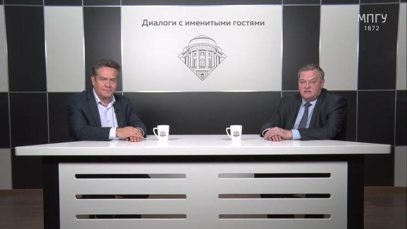О лживых поводырях и новом социализме Н Н Платошкин и Е Ю Спицын в студии МПГУ