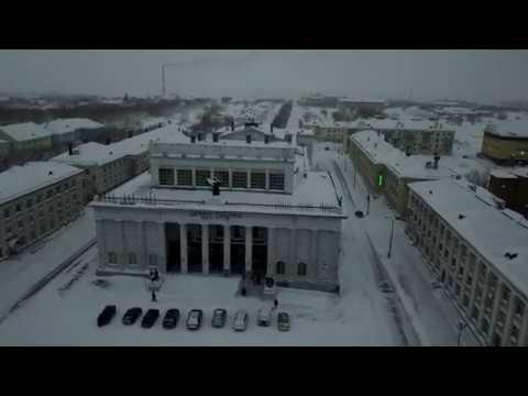 Воркута 2020 зима январь Новый год