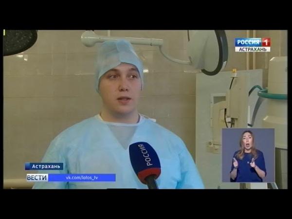В астраханских больницах становится популярна профессия медбрата