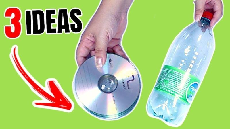 3 Ideas Increíbles de Reciclaje con Botellas de Plástico