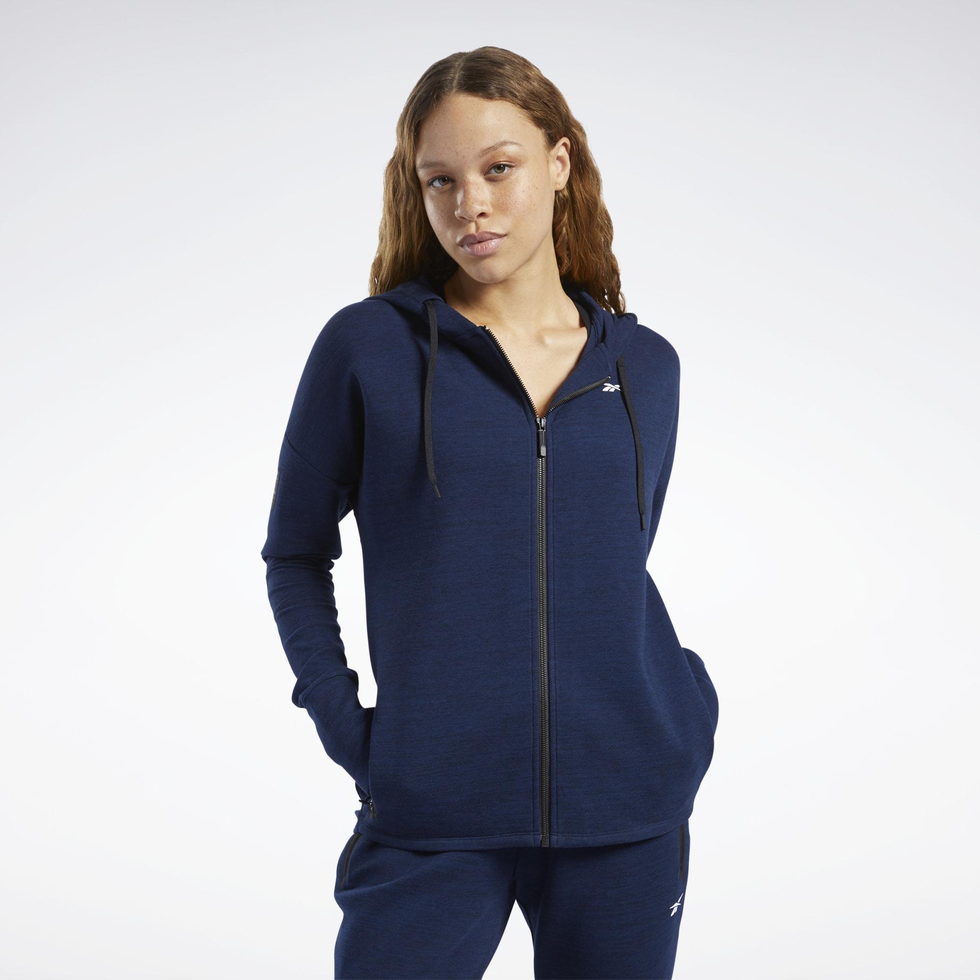 Худи United by Fitness Doubleknit Full-Zip