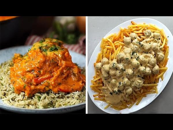 16-ть вкусных рецептов которые вы можете сделать в течение 10 минут. Сыр: Красный Лестер (Лестер или Лестершир сыр), Пармезан, Моцарелла, Чеддер, Эмменталь. Гарнир: Спагетти (макароны), картофель, рис. Канал рецептов и готовки: «Twisted».