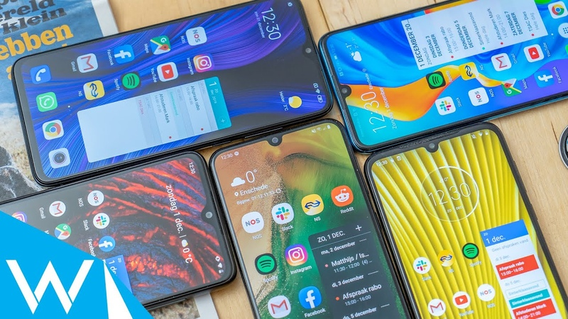 Wat is de beste budgetsmartphone Vergelijking Galaxy A50 P30 Lite Moto G8 Plus en meer WANT