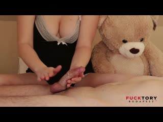 FuckTory Budapest - Make 2 ruins orgasm for slave (2019) [Fuck Tory, 2 times ruined orgasm, кончил подряд 3, Hard HandJob]