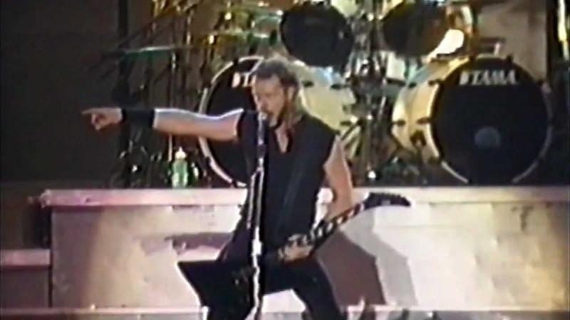 Metallica HD For Whom The Bell Tolls with Jerry Cantrell 1994 08 09 Oklahoma City USA