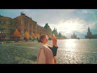 Девушка, влюблённая в Москву
