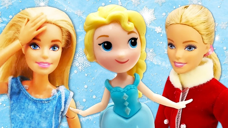 Pretend Play with Barbie and Clown Fun Kids' Videos