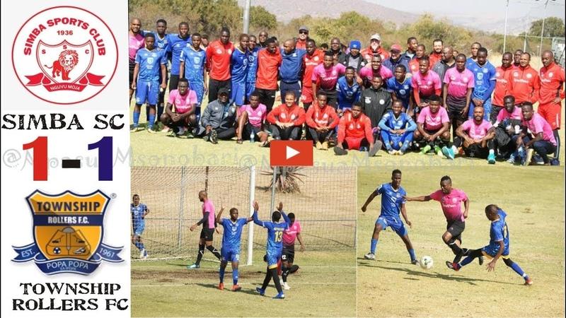 Simba SC Vs Township Rollers 1-1 Tazama Meddie Kagere, MK-14 alivyowafunga Township Rollers 58