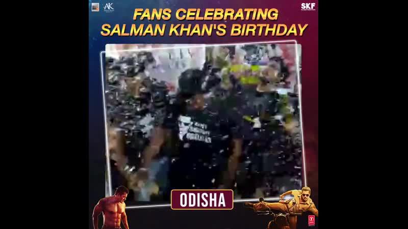 Odisha celebrates Salman Khans birthday with a blood donation Book Tickets Now On BMS mp4